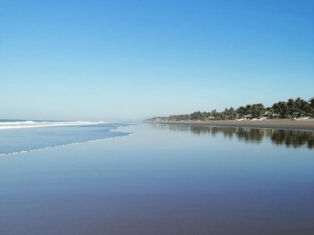 Playa Garita Palmera El Salvador